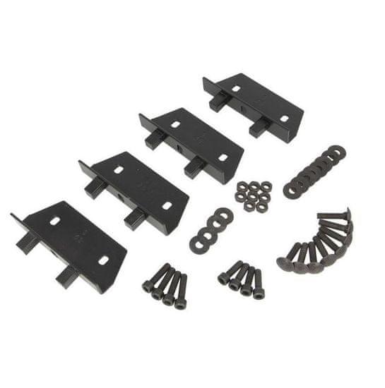 JOPE Montážní kit patky (4 ks), typ střechy: montážní body, pro vozy: ALFA ROMEO, BMW, CITROËN, HONDA, MITSUBISHI, PEUGEOT