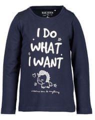 Blue Seven dívčí tričko s nápisem