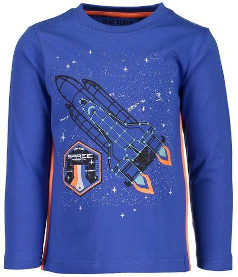 Blue Seven chlapecké tričko s raketou 92 modrá