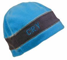 CRV Zimná flísová čiapka Tiwi modrá/sivá M/L