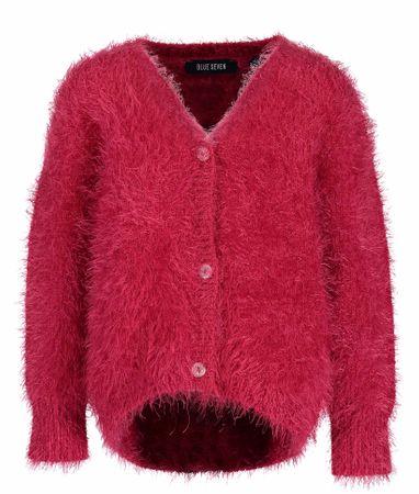 Blue Seven futrzany sweter dziewczęcy, 62, różowy