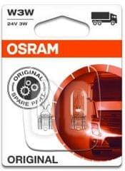 Osram Žárovka typ W3W, 24V, 3W, Standard, 2 ks