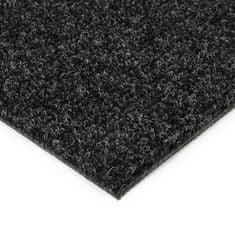 FLOMAT Černá kobercová vnitřní čistící zóna Catrine, FLOMAT - 1,35 cm