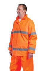 Cerva Reflexná pracovná bunda Gordon pánska oranžová M