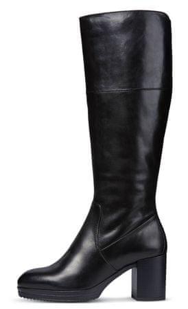 correcto novedad carro  Geox ženski škornji Remigia, 37, črni | mimovrste=)
