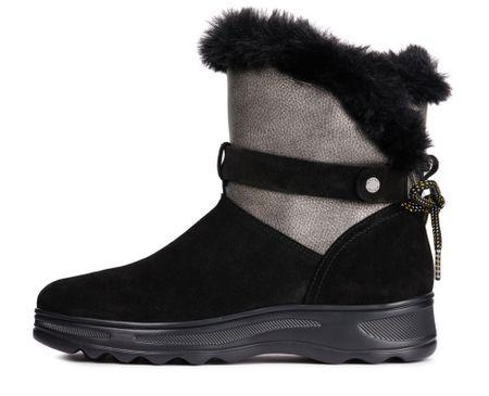Geox dámské sněhule Hosmos B Abx 36 čierna