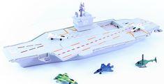 Rappa letadlová loď 76 cm se zvukem a světlem - rozbaleno