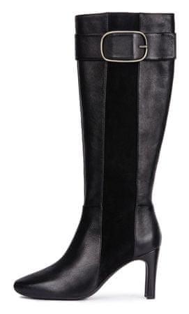 Geox ženske čizme Vivyanne High, 36, crne