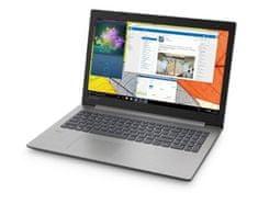 Lenovo prijenosno računalo IdeaPad 330 N5000/4GB/SSD256GB/15,6HD/FreeDOS, sivo (81D100C4SC)