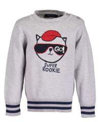 Blue Seven chlapecký svetr s kočkou