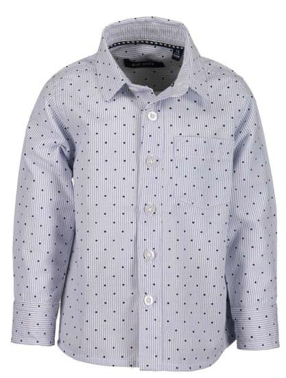 Blue Seven chlapecká košile 74 bílá/modrá