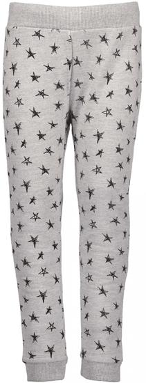 Blue Seven dívčí tepláky s hvězdami 92 šedá