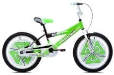 """Amulet  Sunny 20"""" dětské kolo zelené"""