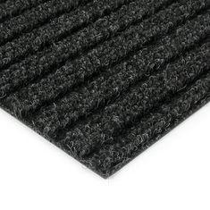 FLOMAT Černá kobercová vnitřní čistící zóna Shakira, FLOMAT - 1,6 cm