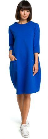 BeWear dámské šaty XXL modrá