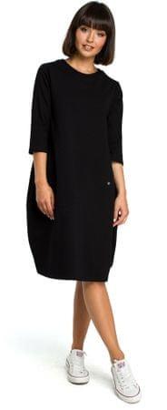 BeWear ženska obleka, črna, M