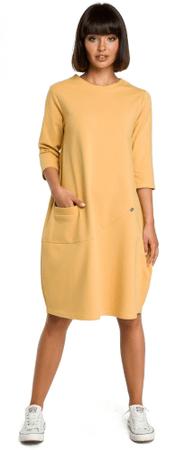 a87f888fd9 BeWear női ruha M sárga | MALL.HU