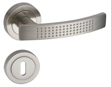 Infinity Line Aurus 300 satyna - okucia do drzwi - pod klucz pokojowy