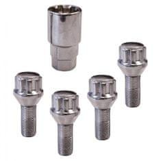 CarPoint Biztosító kerék csavarok M12 × 1,25 × 26 mm Conical