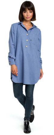 66d6c9c8e3 BeWear női blúz S/M kék | MALL.HU