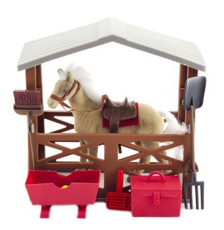 Teddies Ló, istálló és kiegéítők