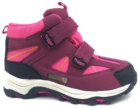Bugga dívčí zimní boty 29 růžová