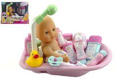 Teddies Lalka z akcesoriami do kąpieli
