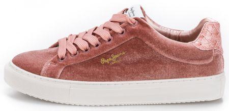 Pepe Jeans ženske tenisice Adams Velour 36 roza