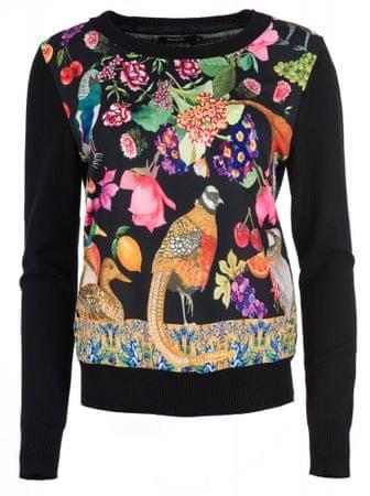 Desigual ženski pulover Astrix, S, črn
