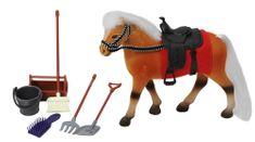 Mac Toys Kôň 18 cm s príslušenstvom