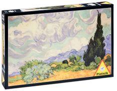 Piatnik Van Gogh - Pšeničné polia s cyprusmi
