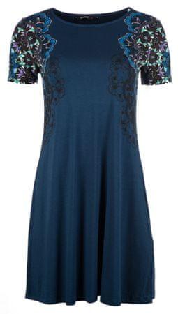 Desigual Cora XS női ruha sötétkék