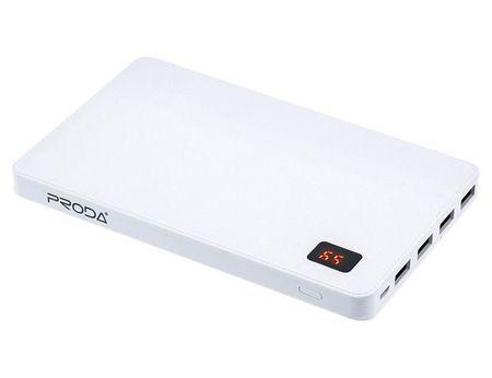 d5be04f7c REMAX Powerbank, 30000 mAh, 4 výstupy, bílá AA-1095 - zánovní   MALL.CZ