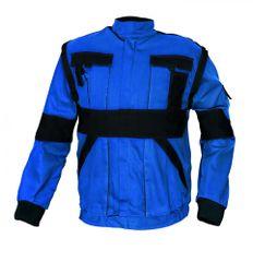 Max Bavlnená montérková bunda a vesta Max 2v1 modrá/žltá 58