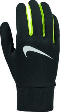 Nike Men'S Lightweight Tech Running Gloves Black/Volt/Silver L