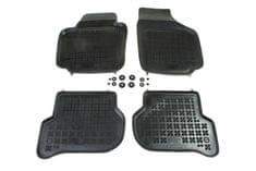 REZAW-PLAST Gumové koberce, súprava 4 ks (2x predné, 2x zadné), Škoda Yeti od r. 2009 a VW Golf Plus od r. 2005
