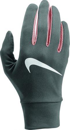 Nike damskie rękawiczki do biegania Lightweight Tech Running Gloves różowy/srebrny XS