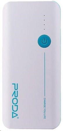 REMAX PowerBank Proda 20000 mAh, bílo - modrá barva EXCLUSIVE AA-1077