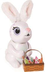 Spin Master Zoomer Hladový králíček - bílý - rozbaleno