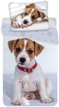 Jerry Fabrics posteljina sa slikom psa 03