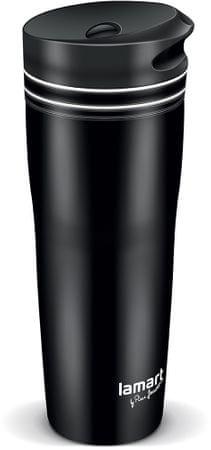 Lamart termos LT4049 MANQ 360 ml, czarny/biały
