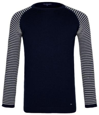 Paul Parker moški pulover, M, temno moder