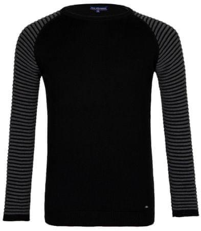 Paul Parker moški pulover, M, črn