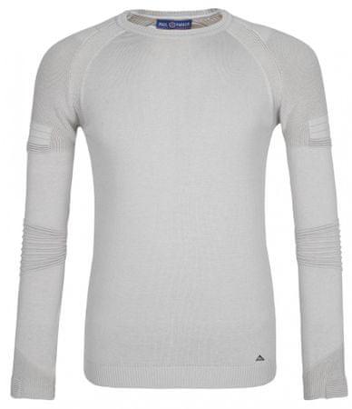 Paul Parker moški pulover, XXL, svetlo siv
