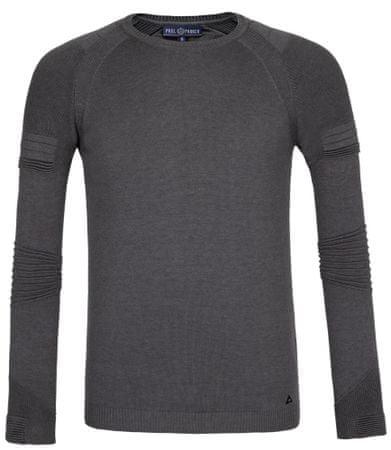Paul Parker moški pulover, XXL, siv