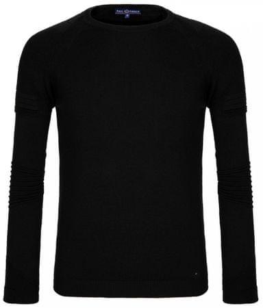Paul Parker moški pulover, L, črn