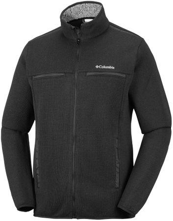 Columbia moška jakna Terpin Point III Full Zip Black, L