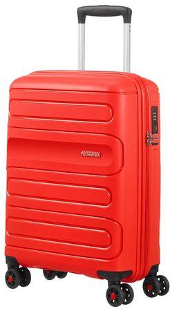 American Tourister Sunside 55 cm-es, piros
