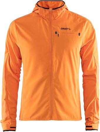 Craft Bunda Urban Hood oranžová XL