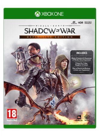 Warner Bros igra Shadow Of War: Definitive Edition (Xbox One)